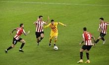 برشلونة يتخطّى بلباو وثنائيّة لميسي