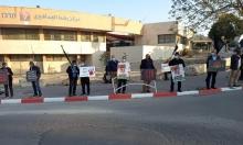 رهط: وقفة احتجاجية ضد تفشي العنف وتواطؤ الشرطة