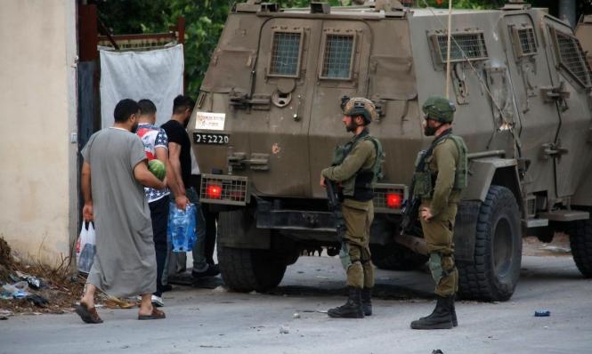 الاحتلال يدعى التعرض لمحاولة دهس وإطلاق نار قرب يعبد