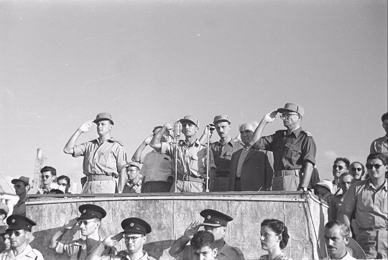النخبة التي أسست إسرائيل أشكنازية شرقية (أرشيف الجيش الإسرائيلي)