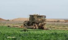 دبابات إسرائيلية تقصف مواقع لحماس بادعاء إطلاق نار على جرافة