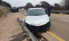 إصابة حرجة لشاب في حادث طرق قرب سخنين
