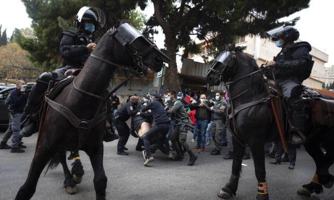 مظاهرة الناصرة: الشرطة تمنع علاج المعتقلين المصابين وتعرقل عمل المحامين