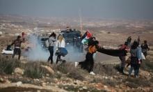 إصابة العشرات إثر اعتداء الاحتلال على مسيرتين في الضفة