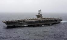 """""""فوكس نيوز"""": صواريخ إيرانية تسقط قرب حاملة طائرات أميركية"""