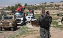 هدم 11 منشأة في عانين ومستوطنون يغلقون طرقا ببيت لحم