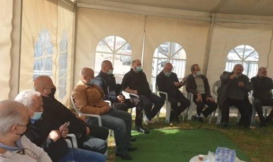 شفاعمرو: خيمة اعتصام احتجاجا على العنف والجريمة وتواطؤ الشرطة