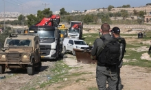 الاحتلال يخطر بهدم ثمانية منازل وبركس في دوما