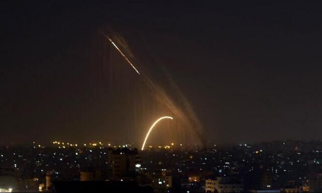 الاحتلال يقصف مواقع في غزة