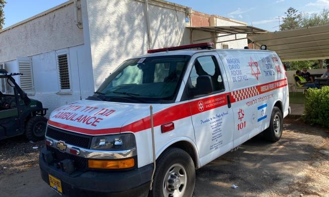 إصابة خطيرة لطفلة سقطت من علو في رهط