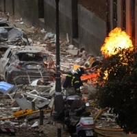 ثلاثة قتلى على الأقل في انفجار في وسط مدريد
