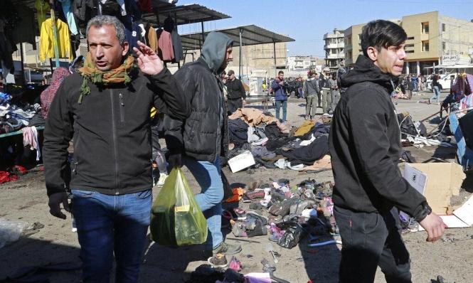بغداد: 32 قتيلا و110 جرحى بتفجيرَين وإيعاز بإجراء تغييرات في الأجهزة الأمنيّة
