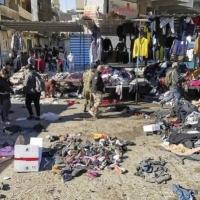 """تنظيم """"داعش"""" يتبنى الاعتداء المزدوج في بغداد"""
