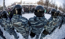 أكثر من 2500 معتقل: مواجهات بين قوات الأمن والمحتجين في روسيا