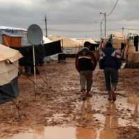 خيام اللاجئين السوريين في لبنان وقسوة البرد