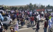 الغواصات بالعليا: احتجاجات ومطالب بإعادة التحقيق الجنائي ليشمل نتنياهو