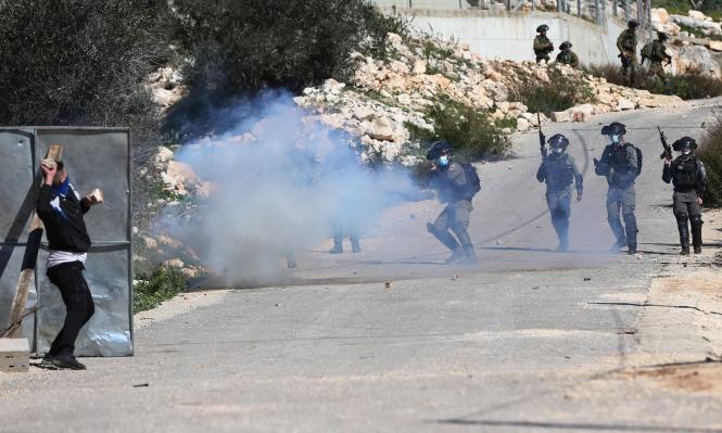 إصابات بمواجهات مع الاحتلال قرب جنين