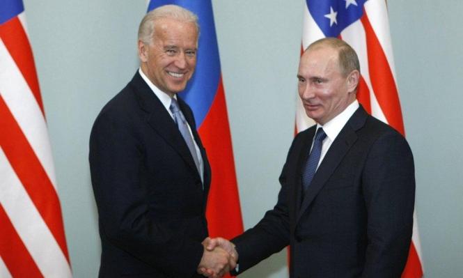 نافالني حاضر في أول محادثة هاتفية بين بوتين وبايدن
