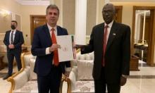 وزير المخابرات الإسرائيلي: توقيع اتفاقيات اقتصادية مع السودان قريبا