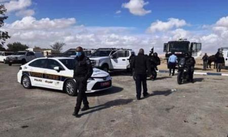 عرعرة النقب: انتشار للشرطة والأمن تمهيدا لزيارة نتنياهو