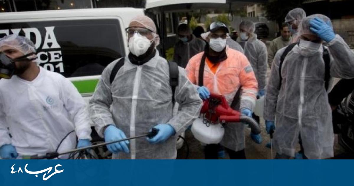 الصحة الفلسطينية: 8 حالات وفاة و747 إصابة كورونا جديدة