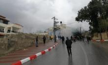 3 إصابات برصاص الاحتلال في مسيرة كفر قدوم