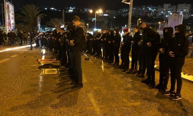 أم الفحم: اعتقال 5 متظاهرين ضد الجريمة وتواطؤ الشرطة