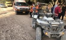 رهط: إصابة طفل في حادث دهس