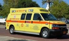 إصابة حرجة في حادث طرق قرب مجد الكروم