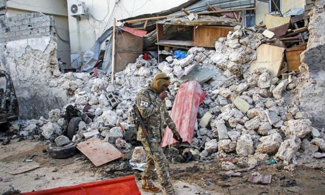 مقديشو: 5 قتلى مدنيين في هجوم مسلح على فندق
