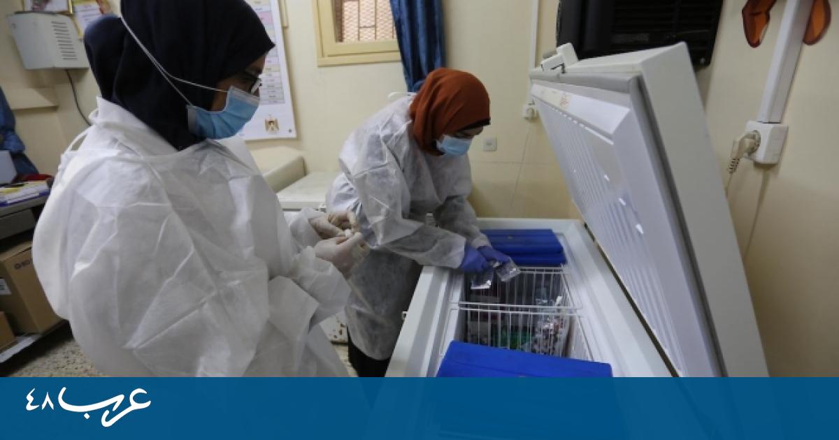 الصحة الفلسطينية: 11 وفاة و586 إصابة كورونا جديدة