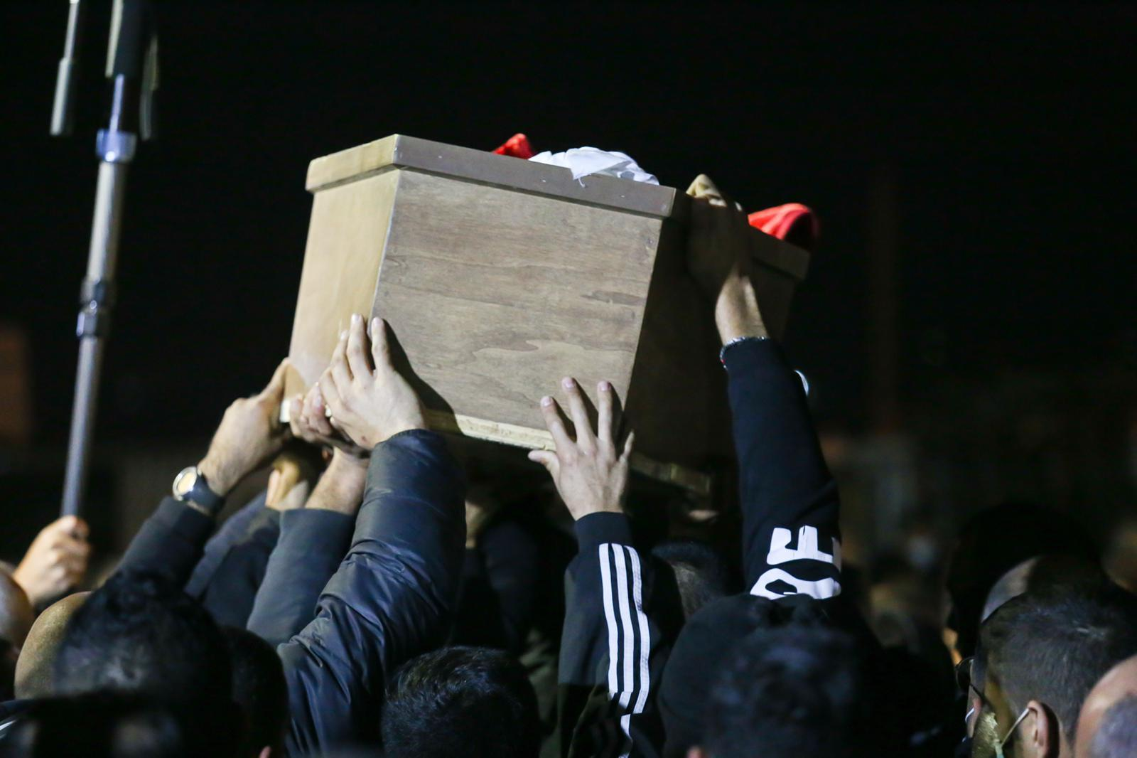 طمرة: الآلاف يشيعون الشهيد أحمد حجازي وإغلاق شارع 70