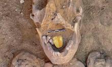 اكتشاف مومياوات بألسنة ذهبية غرب الإسكندرية