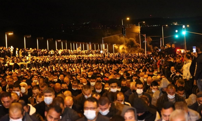 الآلاف يشيّعون الشهيد أحمد حجازي في طمرة
