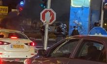 """وحدة """"المستعربين"""" تعتقل متظاهرين ضد الجريمة في الطيبة"""