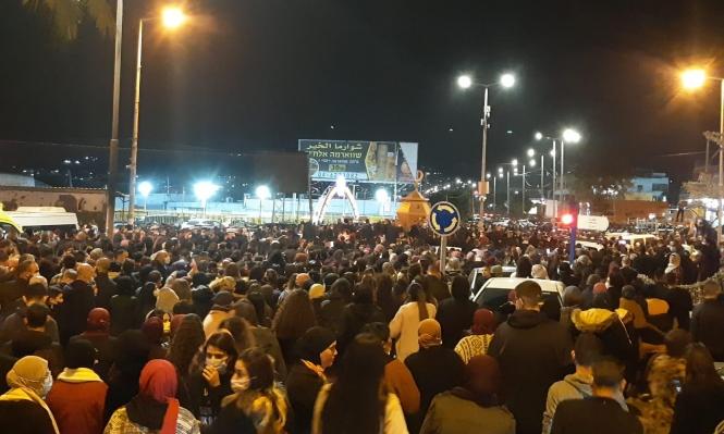 طمرة: اعتقال 3 متظاهرين ضد جرائم الشرطة