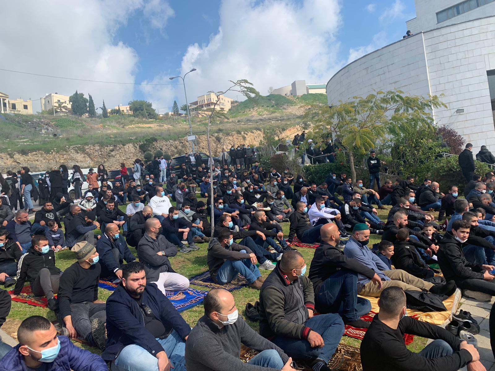 أم الفحم: تواصل الاحتجاج ضد الجريمة وتواطؤ الشرطة