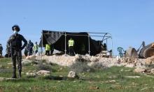 الاحتلال يمنع ترميم محلات تجارية وسط مدينة الخليل