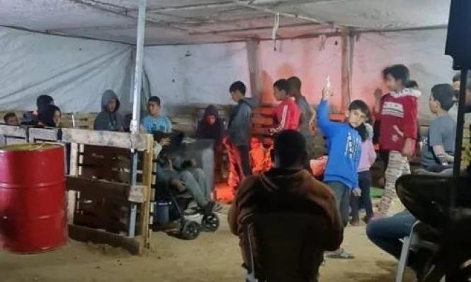النقب: خيمة لإيواء أسرة بعد هدم مسكنها في خربة الوطن