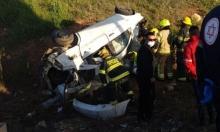 إصابة خطيرة في حادث طرق قرب طرعان