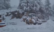 حالة الطقس: عاصف وماطر وثلوج بالمناطق الجبلية