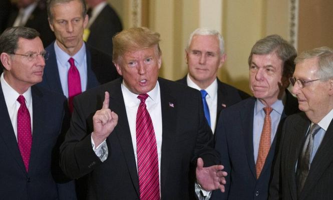 ترامب يطالب الجمهوريين بعزل زعيم الأقلية بمجلس الشيوخ