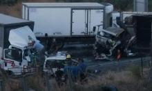 مفرق الرامة: 5 مصابين في حادث طرق بين عدة سيارات