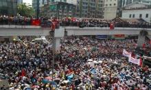 العسكريون الانقلابيون في بورما يهددون المتظاهرين بمواجهة الموت