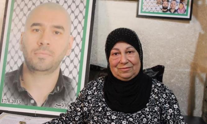 البعنة: وفاة والدة الأسير ياسين بكري