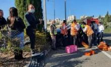 إصابة بالغة الخطورة لشاب في حادث طرق قرب حيفا