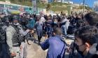 أم الفحم: إصابات واعتقالات في مظاهرة ضد الجريمة والشرطة