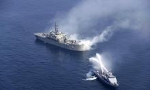 مسؤولون إسرائيليون يتهمون إيران بتفجير السفينة بخليج عُمان