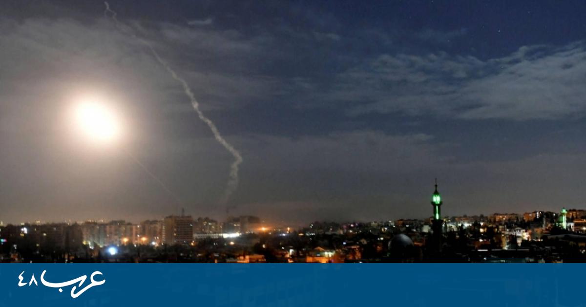 """هجوم إسرائيلي في دمشق: """"ردًا على التفجير الإيراني في السفينة"""""""
