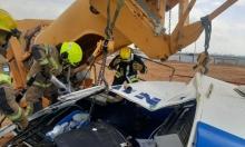 مصرع عامل بانهيار رافعة قرب جسر الزرقاء